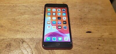 Apple iPhone 8 Plus Red - 64GB - (Verizon) A1864 fractured screen still works