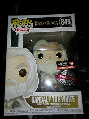 Exclusive Funko Pop! Lord of the rings Gandalf the white #845