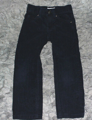 Boys GYMBOREE Navy Blue Cord Jeans Classic Fit Size 4 Slim