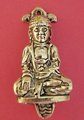 Vintage BUDDHA Brass Door Knocker–- Unusual Novelty