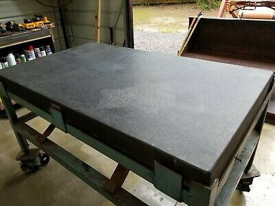 Accu Rite Granite Precision Surface Plate Table 60 x 36 x 5.5 PICK UP TAMPA AREA