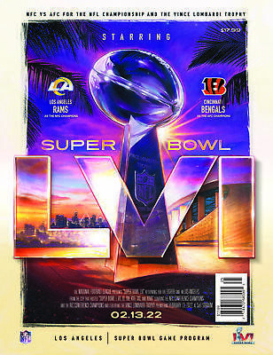 Super Bowl LIV 54 Official National Program Kansas City Chiefs vs 49ers