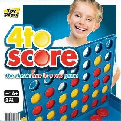 FULL SIZE KIDS CHILDREN FAMILY BOARD GAME- Connect 4