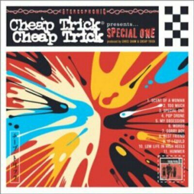 Cheap Trick - Special One (CD & DVD) - Cheap Trick CD TJVG The Cheap Fast Free