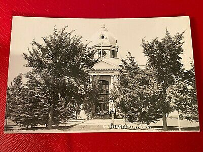 Old Photo Postcard Foster County Courthouse in Carrington, North Dakota