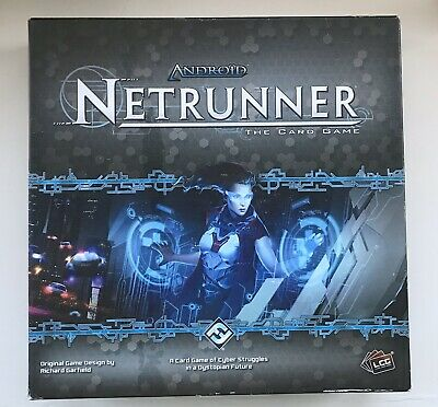Android Netrunner The Card Board Game Seven Repos (Pre-owned)
