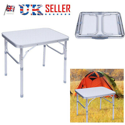 Folding Table Heavy Duty Trestle Camping Party Picnic BBQ Stall Garden Outdoor D
