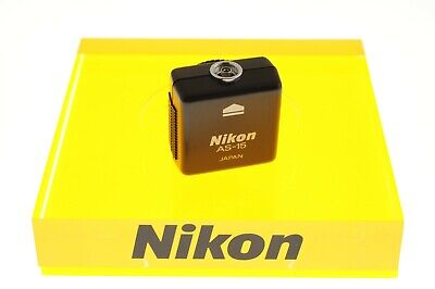 Nikon AS-15 Sync Terminal Adapter (Hot Shoe) MINT- condition.