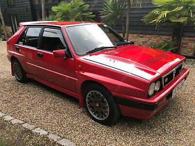 1989 Lancia Delta Intergrale 16V Turbo Red/Black Leather Immaculate Condition