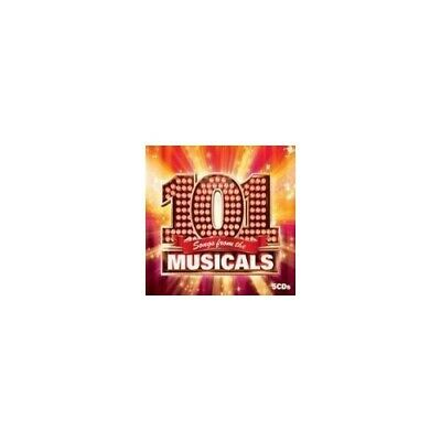 Various Artists - 101 Songs From The Musicals - Various Artists CD WYLN The