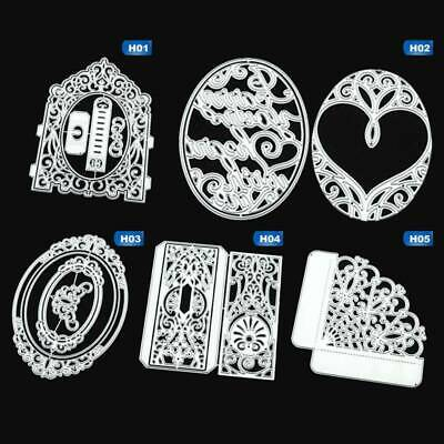 Lace Background Cutting Dies Stencils Scrapbooking Metal Embossing Card~