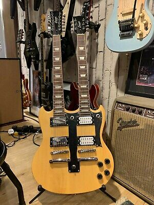 Cozart 6/12 String Electric double neck guitar