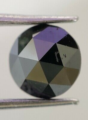 0.33 Ct. Real Fancy Rose Cut AAA+ Quality Black Color Loose Natural Diamond
