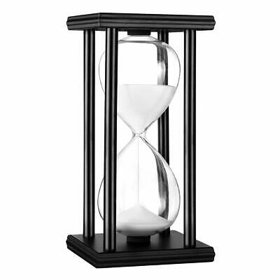 30m Hourglass Sand Timer Finest Wood & Elegant Glass for Decorating Office Room