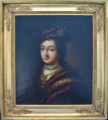 Portrait of a Noble Woman c1800 Oil Painting