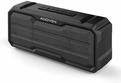 Andven Altoparlante Bluetooth 5.0 senza fili Portatile Speaker, Bass Up,