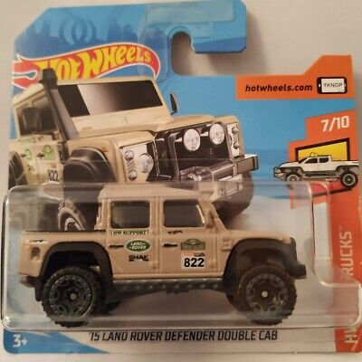 Hot Wheels 2018  ´15 LANDROVER DEFENDER DOUBLE CAB  31//365 NEU/&OVP