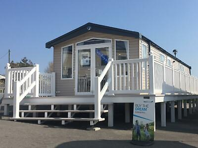 Swift Bordeaux Static caravan for sale on Littlesea Holiday Park in Weymouth
