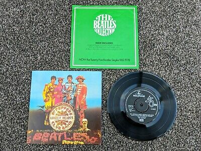 The Beatles 1978 Uk 1St Press Sgt Peppers Lonely Harts Club Band + Insert Mint-