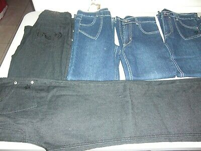 Lot Revendeur Solderie Destockage De 10 Jeans Enfant Fille