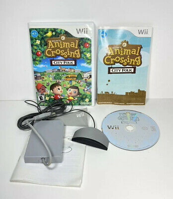 Animal Crossing: City Folk (Nintendo Wii, 2008) with Wii Speak