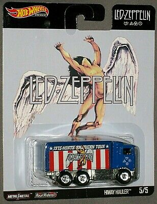 HOT WHEELS Led Zeppelin HIWAY HAULER 5/5 Pop Culture 2019 2020 PREMIUM 1/64 NEW