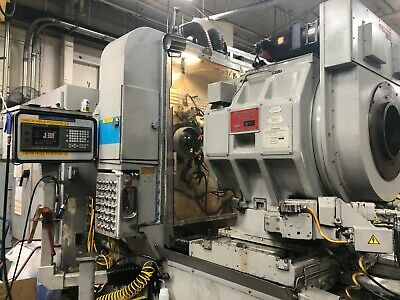 GLEASON Model  887 CNC CURVIC COUPLING GRINDER WITH FANUC 18MB CONTROL