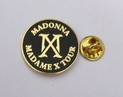 Madonna 2020 Madame X Mx Tour Uk / Europe Concert Pin #2