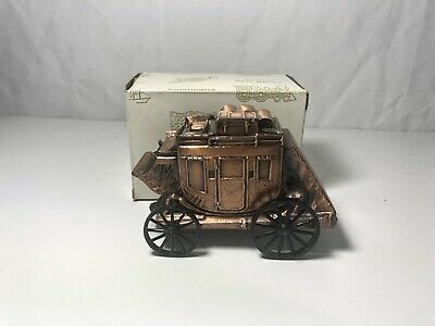 Vintage  Stage Coach Copper Bank-Banthrico Inc.