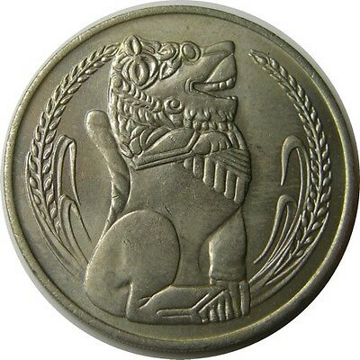 elf Singapore 1 Dollar 1967  Lion