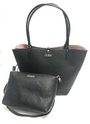 Borsa donna Guess mod Alby toggle tote reversibile con