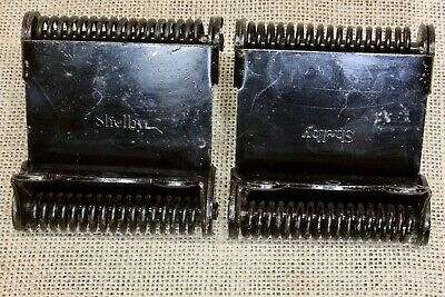 2 Cafe door hinges double swing saloon style OLD antique vintage SHELBY STEEL