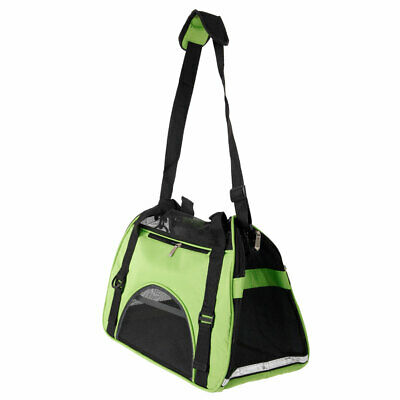 Pet Carrier Soft Sided Large Cat Dog Portable Comfort Travel Tote Bag Travel S