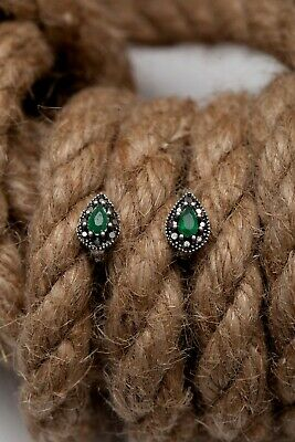 """""""Small Piece Of Ottoman Empire"""" Turkish 925 Silver Earring"""