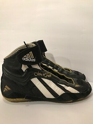 John W. Smith Adidas Mat Wizard Wrestling Shoes - Mens Size 12
