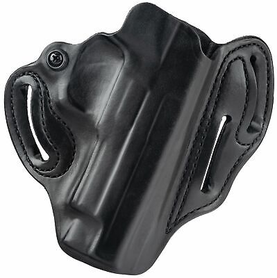 DeSantis 002BAM9Z0 002 Speed Scabbard Belt Holster RH Black S/&W M/&P 9 40 Leather