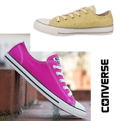 Converse All Star Chuck Taylor Ladies Womens Girls Trainers Shoes Size 3 4 5 6