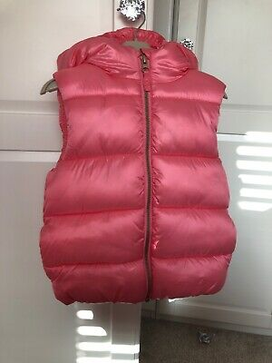 Next Girls Pink Body Warmer Age 4-5, Only Worn Twice, Excellent Condition