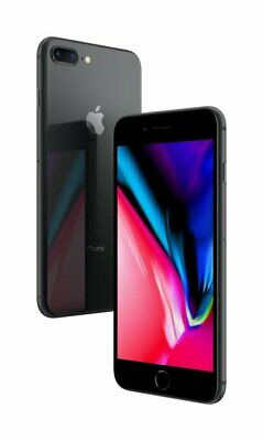 Apple iPhone 8 Plus A1897 64GB 12MP IOS Mobile Smartphone Space Grey Unlocked~~