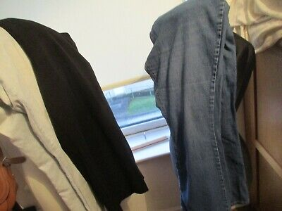 Bundle Of 3 Pairs Of Ladies Jeans/Trousers, Size 18, Named Brands, Exc-Con