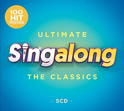 ULTIMATE SINGALONG THE CLASSICS 5 CD SET - 100 HITS (Released 2019)