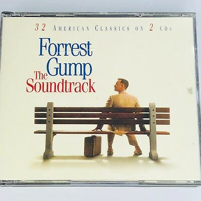 Forrest Gump The Soundtrack - 32 American Classics On 2 CDs Various Artists