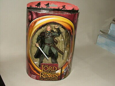 """Toy Biz Lord Of The Rings Action Figure 7"""" Legolas With Rohan Armor Sealed"""