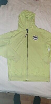 Girls / Boys Yellow Converse Hoodie - Age 12 - 13 Years Fab Cond