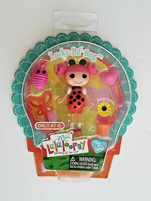 NEW Exclusive Mini Lalaloopsy Doll LUCKY LIL/' BUG Ladybug costume Target
