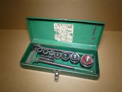 GREENLEE 1804 Ratcheting Knockout Punch Kit