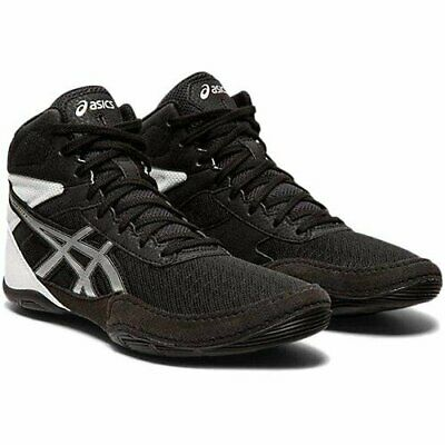 asics Wrestling Boxing Shoes MATFLEX6 GS for Kid's Black × Silver from JAPAN