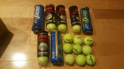 Lot of 30 TENNIS BALLS Used Ships 24 hrs Mostly Penn