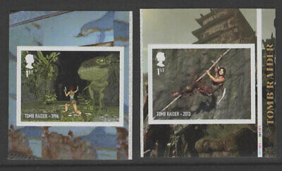 2020 Two x 1st 'Tomb Raider' SA CYL from 'Video Games' Booklet PM71