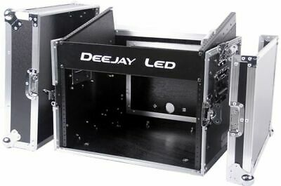 """Deejayled TBHM800E 19/"""" Mixer Case With 8u Top Spa"""